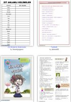 Worksheets - Turkish language and grammar