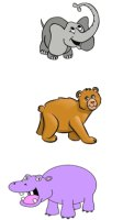 Learning animals' names