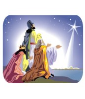 The three wise men_The night of Christmas