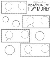 Play money printables