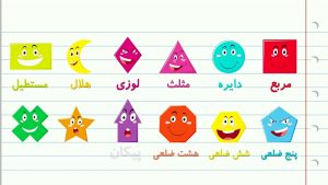 Shapes in Persian