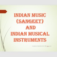 Indian Musical Instruments - Power Point presentation