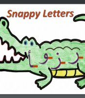 Poster: Snappy or unfriendly letters -These letters that do not connect to the left